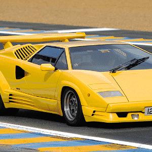 Lamborghini Countach - Divulgação/Lamborghini/Ed. Alaúde