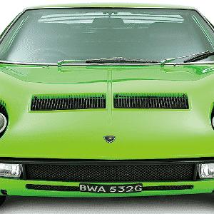 Lamborghini Miura - Divulgação/Lamborghini/Ed. Alaúde