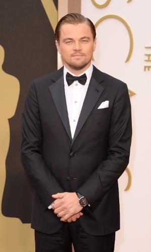 """2.AMR.2014 - Leonardo DiCaprio, indicado ao prêmio de Melhor Ator por """"O Lobo de Wall Street"""", chega à 86 edição do Oscar"""