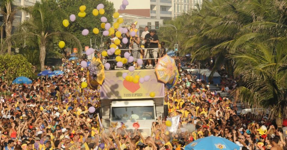 2.mar.2014 - Bloco Simpatia é Quase Amor celebra 30 anos de existência