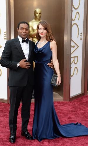 """2.mar.2014 - Chiwetel Ejiofor, indicado a Melhor Ator por """"12 Anos de Escravidão"""", chega ao Dolby Theatre"""