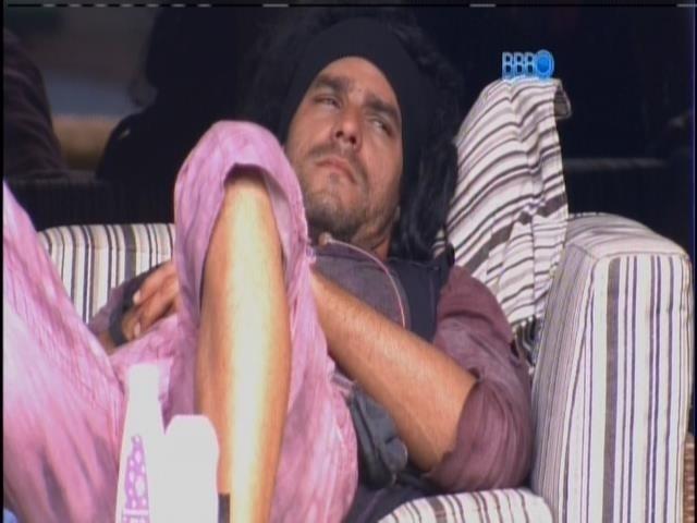 2.mar.2014 - Diego está preocupado de ir para o paredão com Franciele