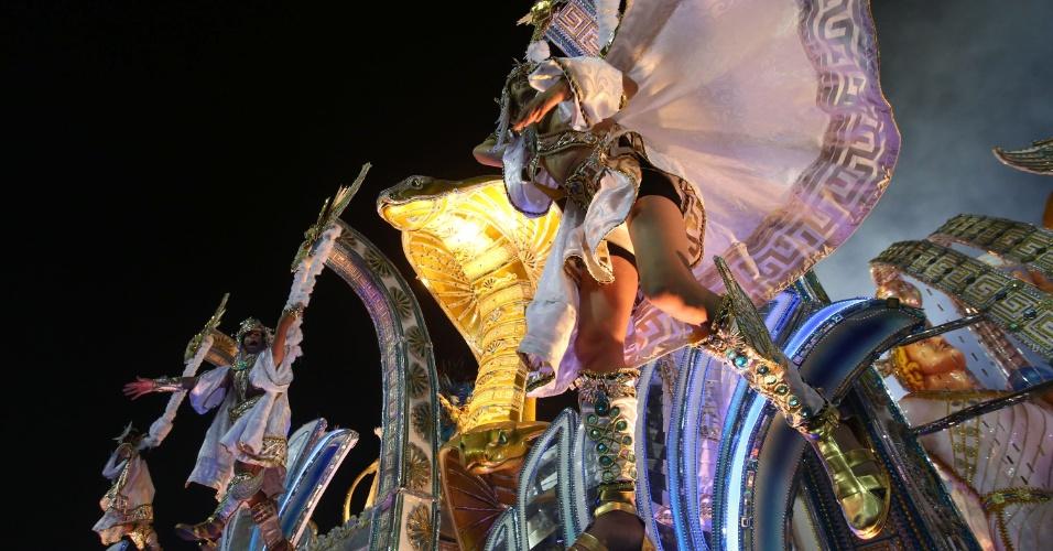 3.mar.2014 - Desfile da Beija-Flor