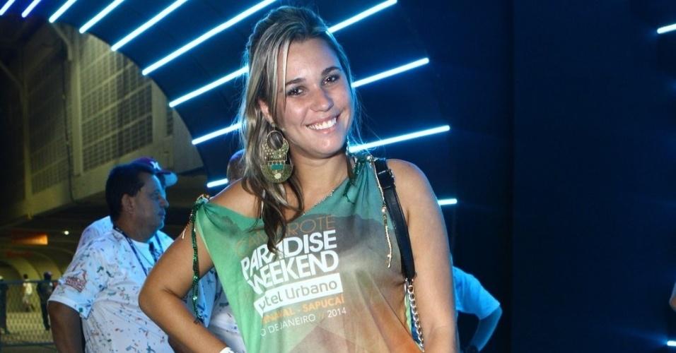 3.mar.2014 - Marien no Grupo de Acesso, na Sapucaí