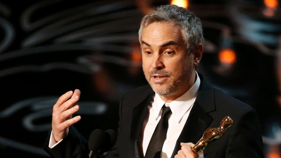 """Alfonso Cuarón recebe Oscar de Melhor Diretor por """"Gravidade"""" - Lucy Nicholson/Reuters"""