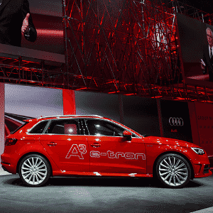 Audi A3 Sportback e-tron - Fabrice Coffrini/AFP