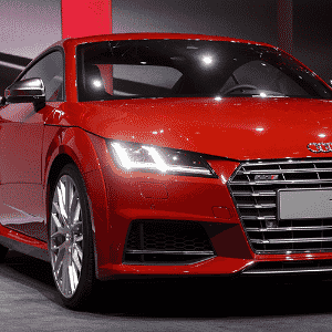 Audi TTS - Fabrice Coffrini/AFP
