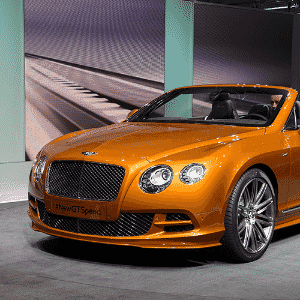 Bentley Continental GT Speed - Fabrice Coffrini/AFP