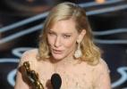 Atriz Cate Blanchett recebe segundo Oscar da carreira; veja álbum - Getty Images