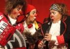 Crianças misturam música eletrônica e marchinhas em oficina de Carnaval