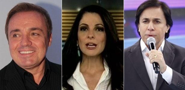 Gugu Liberato, Ana Paula Padrão e Tom Cavalcanti, que ao irem para a Record, ajudaram a inflacionar os salários da TV aberta