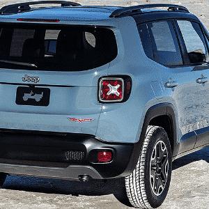Jeep Renegade 2015 - Divulgação
