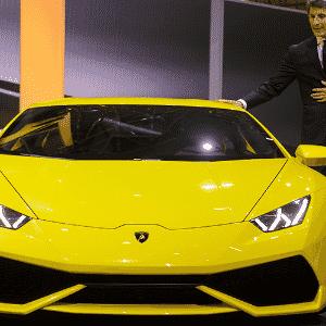 Lamborghini Huracán - Fabrice Coffrini/AFP