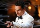 """Matthew McConaughey ganha seu primeiro Oscar com """"Clube de Compras Dallas"""" - Lucy Nicholson/Reuters"""