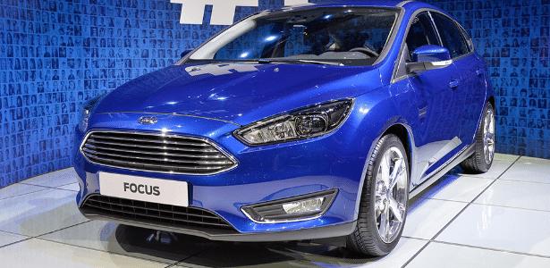 Ford Focus remodelado foi apresentado no Salão de Genebra de 2014 - Divulgação