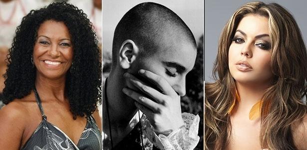 """Zica Assis, Sinead O""""Connor e Fluvia Lacerda são mulheres que desafiaram os padrões de beleza - Divulgação"""