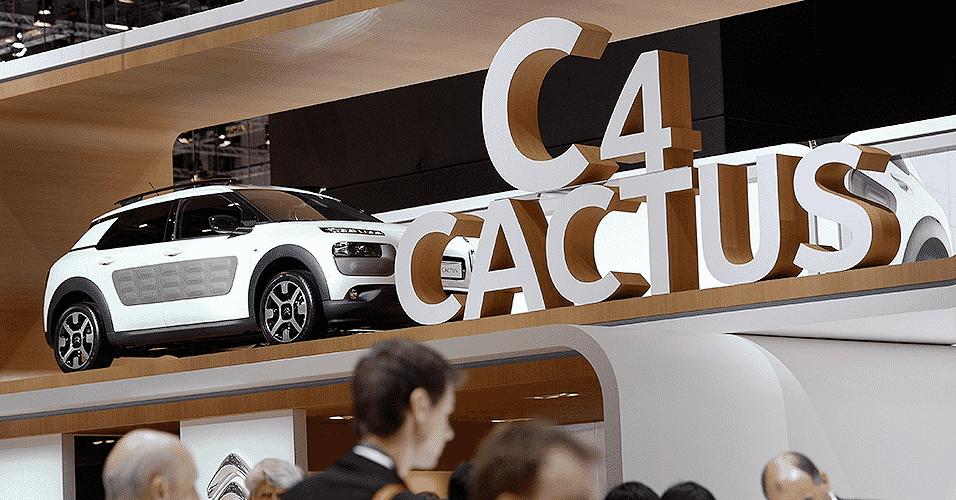 Citroën C4 Cactus - Fabrice Coffrini/AFP
