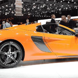 McLaren 650S Spider - Wang Siwei/Xinhua