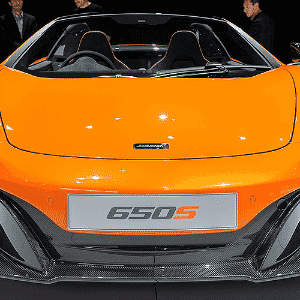 McLaren 650S Spider - Newspress