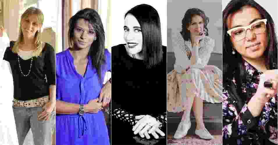 Mulheres que comandam a moda noiva no Brasil - Divulgação/Lethicia Bronstein/Trinitá/Berthemy Kemler/Camila Cornelsen/André Cavalheiro