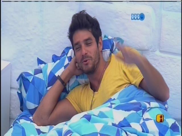 7.mar.2014 - Diego revela desentendimento com ex-BBB Anamara