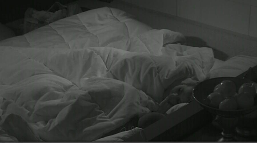 07.mar.2014 - Angela e Valter comentam a briga entre Marcelo e Aline.