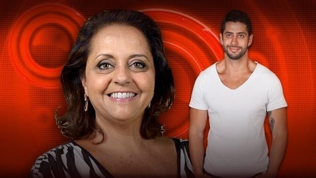 Leda, mãe de Marcelo, 58 anos