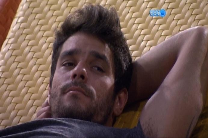 9.mar.2014 - Diego citou um episódio envolvendo Olin Batista, filho de Eike Batista, e Babi Rossi