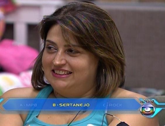 """10.mar.2014 - Susi errou ao dizer que Cássio, o seu filho, prefere o gênero sertanejo como """"gosto musical""""; ele disse rock"""