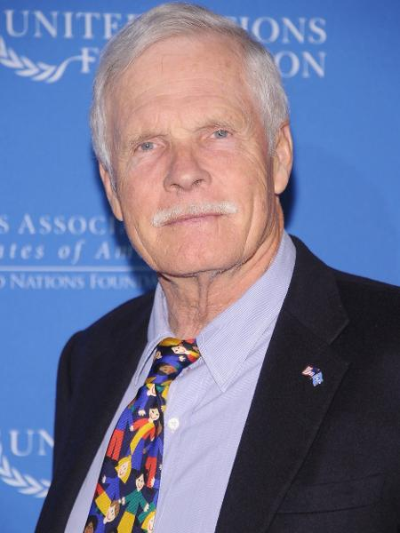 Ted Turner, fundador da CNN, diz estar sofrendo de demência - Getty Images