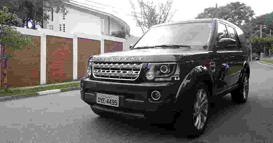 Land Rover Discovery 2014 - André Deliberato/UOL