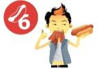 Japonês come seis cahorros-quentes em três minutos; veja recordes da comida
