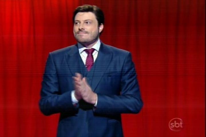 """10.mar.2014 -  """"The Noite"""", com Danilo Gentili, estreia no SBT"""