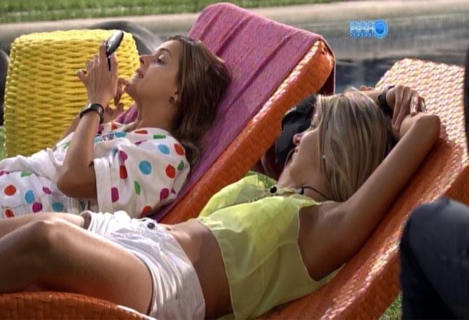 """11.mar.2014 - Angela decreta favoritismo de Marcelo em paredão, e diz: """"Hoje, Aline sai"""""""