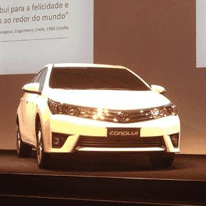 Toyota Corolla chega ao modelo 2015 com nova geração, mas mesmos ideias da estreia global em 1966 - André Deliberato/UOL