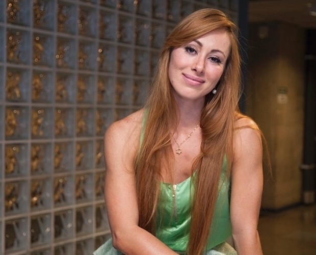 10.mar.2014 - Eliminada com 80% dos votos, Aline ficou surpresa com o índice de rejeição: