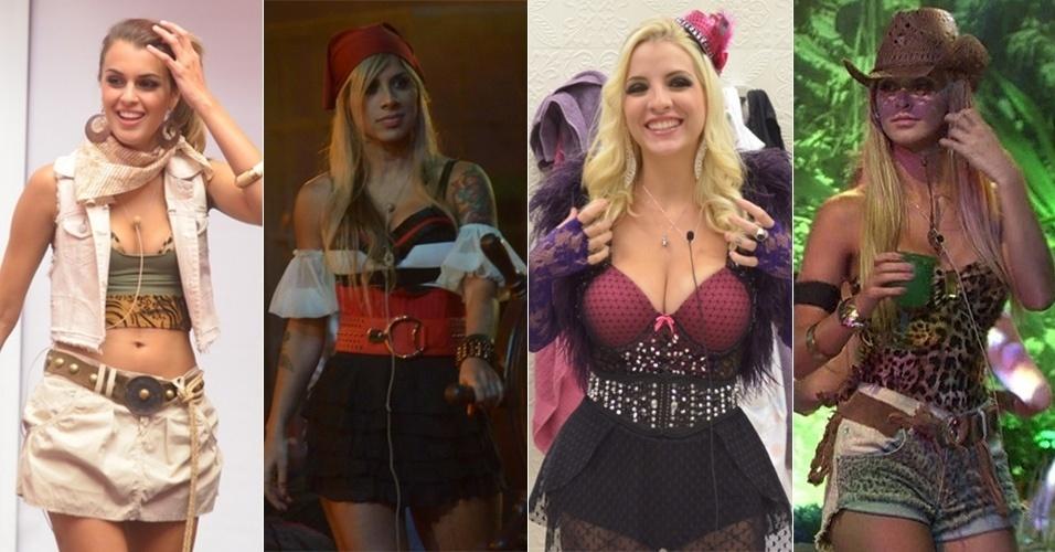 """Confira o estilo das sisters Angela, Vanessa, Clara e Tatiele nas festas do """"BBB14"""""""