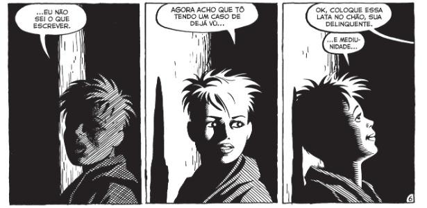 """A persongaem Hopey, da série em HQ """"Lôcas"""", de Jaime Hernandez - Divulgação/Gal Editora"""