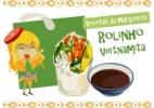 Mistura de temaki e rolinho primavera é fácil de fazer; aprenda