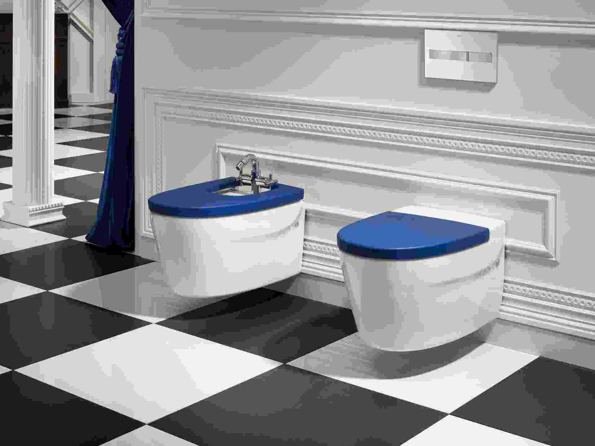A bacia sanitária Khroma da Roca (www.br.roca.com) compõe a coleção assinada pelo designer austríaco Erwin Leo Himmel - Divulgação