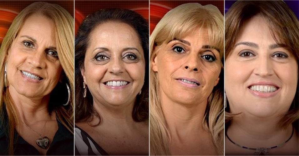 Mães de Diego, Marcelo, Vanessa e Cassio