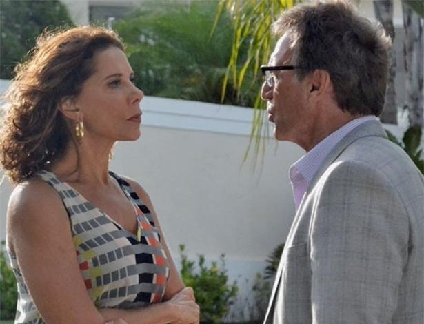 Ricardo enfrenta Branca e diz que ela nunca o terá de volta