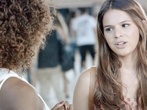 Luiza não quer saber de perder tempo com Laerte
