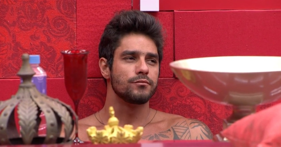 16.mar.2014 - Cássio confirma indicação de Marcelo ao paredão e Diego teme enfrentá-lo