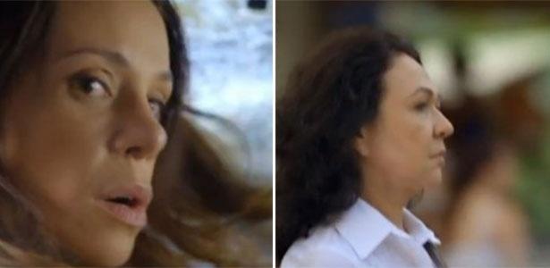 17.mar.2014 - Em Família, Juliana atropela a avó de Bia