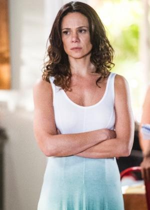 """Juliana (Vanessa Gerbelli) está obcecada pela ideia de ter um filho na novela """"Em Família"""" - Divulgação/TV  Globo"""
