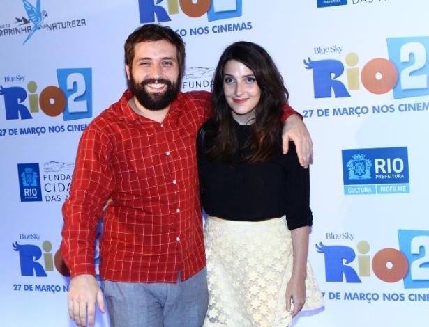 Mesmo separados, Gregorio Duvivier e Clarice Falcão manterão agenda profissional