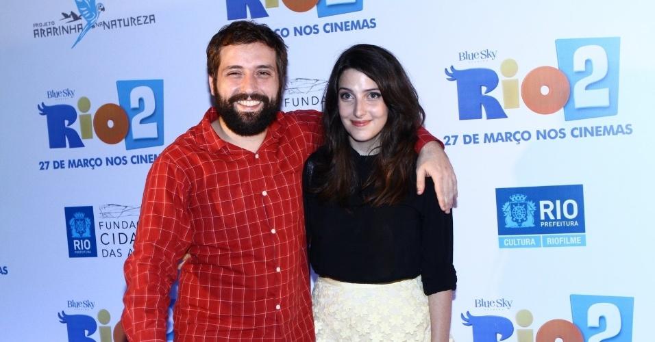 Gregorio Duvivier e Clarice Falcão se separam após cinco anos juntos