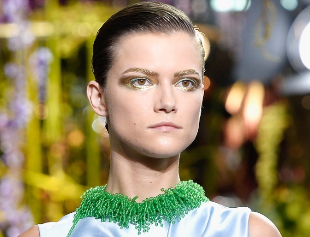 27.set.2013 - Desfile da Dior na temporada primavera/verão da semana de moda de Paris - Getty Images