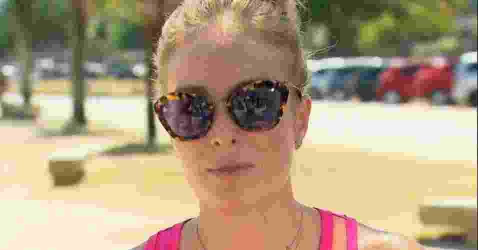"""O óculos de sol usado pela apresentadora Angélica no dia 8 de fevereiro no programa """"Estrelas"""" foi o mais pedido pelo público da Globo na Central de Atendimento ao Telespectador - Divulgação"""